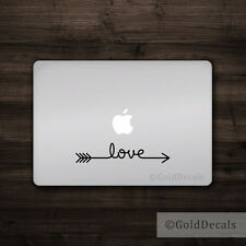 Love Arrow - Vinyl Decal Mac Apple Logo Laptop Sticker Macbook Decal Travel