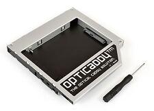 Opticaddy second SATA-3 HDD/SSD Caddy for HP EliteBook 8530w 8540p 8540w