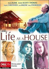 LIFE as a HOUSE (Kevin KLINE Kristin SCOTT THOMAS) Film DVD NEW SEALED Region 4