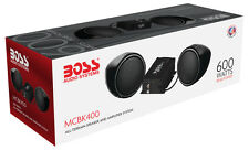Boss MCBK400 600W Motorcycle/UTV Speaker and Amplifier System Low $$