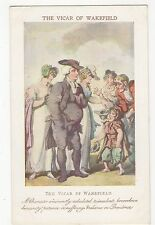 The Vicar Of Wakefield, T. Rowlandson Postcard, A736