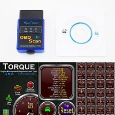 Bluetooth Android TORQUE ELM327 Car OBD2 diagnostic scanner for BMW VW Audi Mini