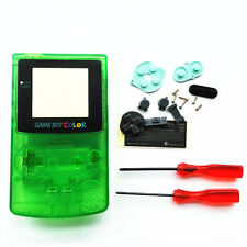 Transparent Clear Green Housing Shell Case For Nintendo Game boy Color GBC Hot