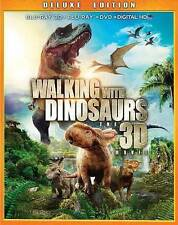 Walking With Dinosours: THE 3D Movie - DELUXE Edition w/ Slipcover New