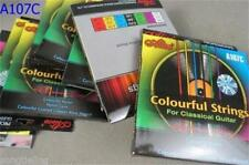 3 set of Acoustic Guitar Nylon Core Strings ,Colourful Nylon A107C