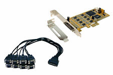 Exsys EX-45368 - PCI-Express Mapa 8x Serial RS-232/422/485, SystemBase Chip