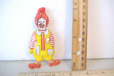 ~RONALD MC DONALD~ MCDONALDS VINYL ORNAMENT~1984~