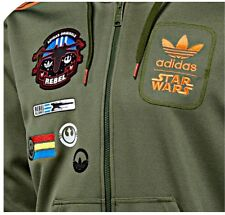 Adidas Originals Star Wars X-Wing Han Solo Hooded Size Medium M.