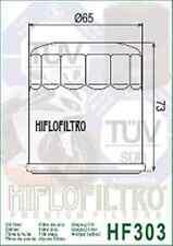 FILTRO OLIO HF 303 HONDA CB 400 CBR 600 1000 VFR VT 1100 KAWASAKI ZX 750 VN 1700