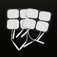 8 PC ELECTRONIC PULSE MASSAGER PL-009 ELECTROTHERAPY REPLACEMENT Pads Electrodes