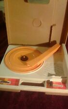 Vintage 1978 Fisher Price 825 Record Player As Is Parts(C2)