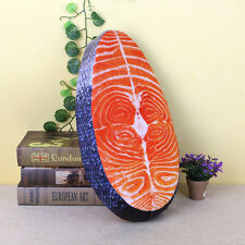 Creative 3D Washable Pillow Sushi Salmon Simulation Cushion Plush Toy Home Decor