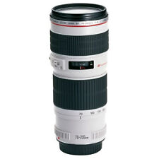 Canon ef 70-200mm F/4 l is usm lentille