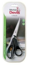 KITCHEN DEVILS GENERAL HOUSEHOLD MULTI PURPOSE SCISSORS 10 YEAR GUARANTEE - 21CM