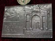 Replica Copy Menin Gate Ypres Plaque moulded from original-NAME ENGRAVED