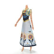 """2 Pcs/set Wedding Gown Dress For Barbies Anna Dolls 21cm/8.27"""" with Vest POP"""