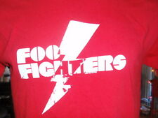 Foo Fighters T-shirt Red, Large, Band Logo, Echoes, Silence, Patience & Grace