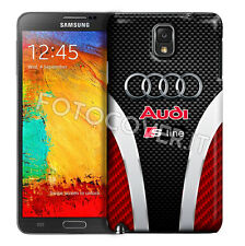 COVER PER SAMSUNG GALAXY NOTE 3 N9005 NOTE III STAMPA PIENA TIPO AUDI