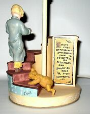 Rare Vintage MICHAEL & CO Classic Winnie the Pooh 65112 Hand Painted Lamp #65112