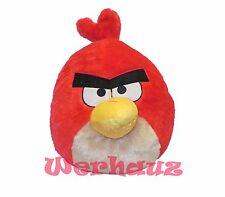 "Angry Birds Plush Backpack 14"" Red, New"