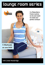 BARRE PILATES FUSION DVD - Barlates Body Blitz LOUNGE ROOM SERIES 5 workouts!