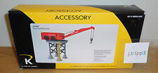 K-LINE LIONEL 6-22667 ACME SCRAP PLATFORM CRANE TRAIN LAYOUT ACCESSORY O GAUGE