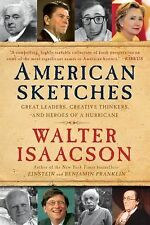 American Sketches by Walter Isaacson (2009, Paperback)