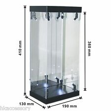 "Acrylic Display Case LED Light Box for 13"" 1/6th Scale NBA Collectible Figurine"