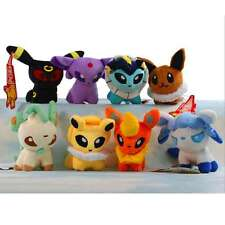8 Set Pokemon Go Figure Eevee Evolution Chart Animal Plush Toy US Stuffed Doll