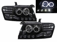MONTERO 2000-2006 CCFL Angel-Eye Projector HEADLIGHT BLACK for MITSUBISHI RHD