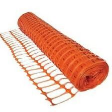 1 ROLLS OF ORANGE BARRIER FENCING 1m x 50m