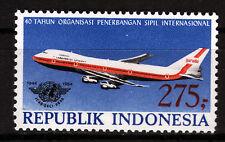 Indonesien 1159 **, 50 Jahre ICAO-Flugzeug