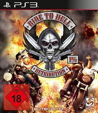 SONY PS3 Ride to Hell: Retribution PlayStation 3 Biker deutsch OVP Sammler Item