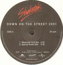 SHAKATAK - Down On The Street 2001 (Wackside, Tiefschwarz Rmxs) - Polydor