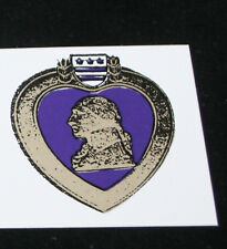 PURPLE HEART STICKER DECAL ZAP MADE IN US ARMY MARINES NAVY AIR FORCE VETERAN