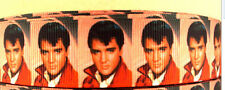 Elvis Presley ribbon for cake decorating or scrap booking