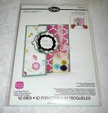 Sizzix Stephanie Barnard Framelits Dies CARD, REGAL FLIP-ITS Item #559633