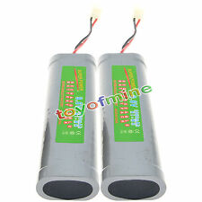 2 x 9.6V 3800mAh Ni-MH Rechargeable Battery Pack RC M1