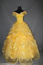 Custom Made Beauty And The Beast Princess Belle Cosplay Costume High Quality