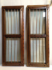 Sailboat Wood Glass Brass Butterfly Hatch Deck Windows Skylight Vintage