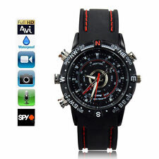RELOJ PULSERA CAMARA ESPIA OCULTA 8GB MICROFONO WATCH CAMERA SPY USB VIDEO