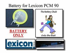 Battery for Lexicon PCM 90 - Internal Memory Backup Replacement Battery
