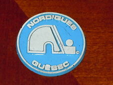 QUEBEC NORDIQUES Vintage Old NHL RUBBER Hockey FRIDGE MAGNET Standings Board