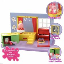 Peppa Pig Activity Playset - Dance with Princess Peppa & Ballerina Outfits-BOXED