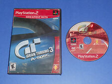Gran Turismo 3 A-spec (Sony PlayStation 2) PS2 racing game Rated E everyone