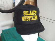 Vintage 1980s Solanco Wrestling Adjustable Baseball Hat