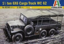 Italeri 6230, American 1 1/2 Ton 6x6 Cargo Truck WC 62 Plastic Kit