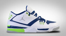 NIB MENS NIKE AIR JORDAN FLIGHT 23 WHITE BLUE BASKETBALL ATHLETIC SHOES Sz 10