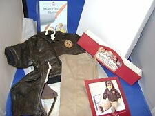 New in White Box AMERICAN GIRL MOLLY'S AVIATOR OUTFIT Pleasant Company RETIRED