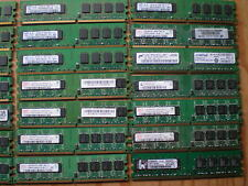 Lot of 500 DDR2 1GB 1Rx8 PC2-5300/ 6400 single-sided non-ecc desktop Memory